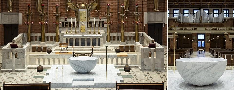 kostel Nejsvětějšího Srdce Páně koruna